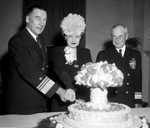 Admiral Blandy Mushroom Cloud Cake