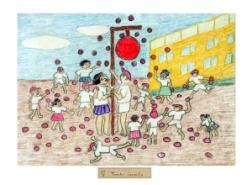 Dibujo de los niños de Hiroshima