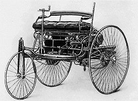 El primer Motorwagen Benz.